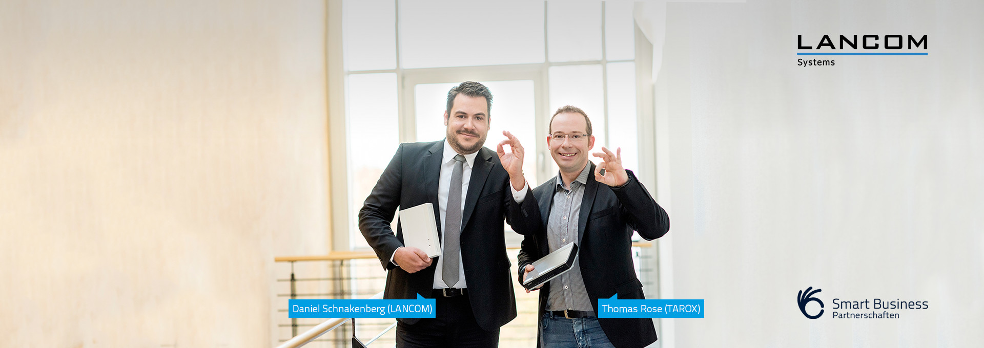 Lancom: Smart Business Partnerschaft